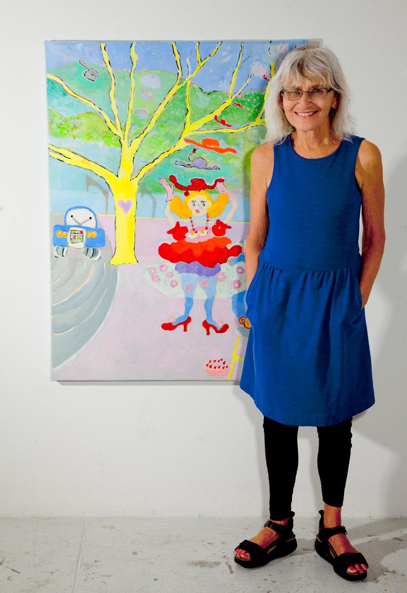 Ann Wolken In Studio