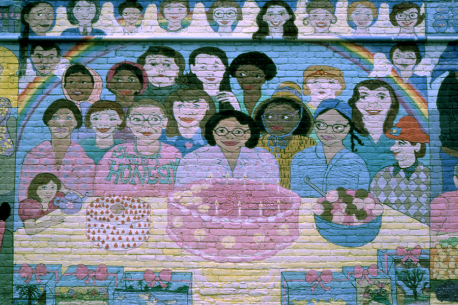 Downtown Women's Center Mural